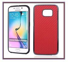 Super Slim Carbon Fiber Shockproof Cover Case For Samsung Galaxy S6 Edge