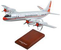 American Airlines Lockheed L-188 Electra Desk Top Display 1/72 ES Model Airplane