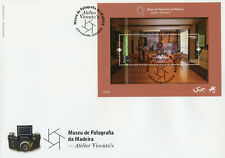 Portugal Art Stamps 2020 FDC Madeira Photography Museum Atelier Vicente's 1v M/S