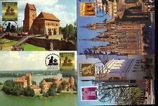 Litauen 5 Maxikarten frühe Ausgabe (2576))
