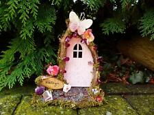 Pink Fairy Door - Personalised, Custom made, Fairy House, Tooth Fairy Gift