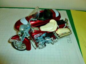 die cast 1:15  Polistil  Harley Davidson Electra Glide con sidecar