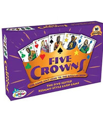 Five Crowns Rummy Card Game, Family Party Card Games, Free Shipping From USA