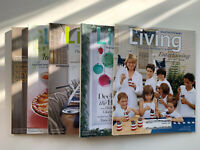 Martha Stewart Living Magazine Lot Of 5 Issues July-December 2006 Incomplete
