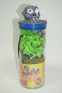Zombie Playset 60pc Toy Soldier Plastic Army Men Figures Boley 2014 New Sealed
