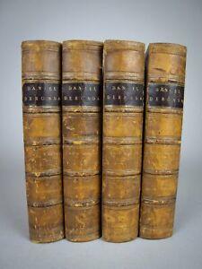 1876 Daniel Deronda by George Eliot. First Edition. Leather Binding.