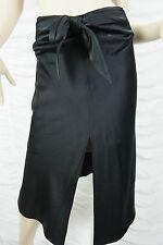 CAMILLA AND MARC black fading 100% silk asymmetrical hemline skirt size unknown