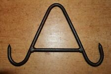 Vintage Style Wrought Iron Gambrel Butchers Game Hook Meat Beam