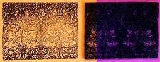 UM William Morris Rabbits rubber stamp by Amazing Arts