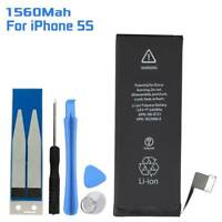 1560mAh Replacement Internal Li-ion Battery Adhesive For iPhone 5s + Free Tools