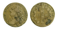 s55_9) France Louis XVI - 12 Deniers 1792 D