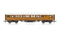 """Hornby R4826 OO Gauge LNER 61'6"""" Gresley Corr Brake Coach 32557"""
