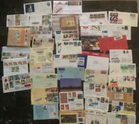 40 World Wide Covers Collection Lot MXE