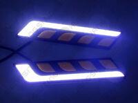 2X L Shape COB Auto Car SUV LED DRL Fog Running Light SUV Lamp Driving White