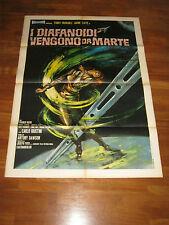 manifesto,1 EDIZIONE,I DIAFANOIDI VENGONO DA MARTE,A.MARGHERITI,F.NERO,SCI-FI