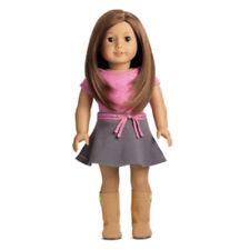 "American Girl MY AG 18"" DOLL #59 Brown Eye Brown Hair True Spirit DN59 NEW"