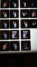 ROGER MOORE VINTAGE  LOT OF 35MM SLIDE TRANSPARENCY PHOTO #