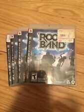 ROCK BAND - PS3 - COMPLETE W/MANUAL - FREE S/H (S)