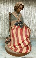 Thomas Clark Betsy Ross Statue Dated 1991 Midwest Promo Euc !