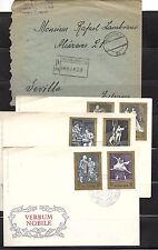 Polonia. Conjunto de 8 piezas de Historia Postal