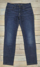 LEVIS Women's Capital E Ruler Low Rise Slim Straight Jeans Size 30 USA Made $198