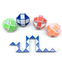 Magic Cube Snake Rubiks Rubix Rubic Game Puzzle Party Travel Family Mini Toy NEW