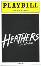 HEATHERS Musical Playbill Barrett Weed (MEAN GIRLS) Ryan McCartan (Liv & Maddie)