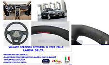 Volante Rivestito in vera Pelle - Sterzo - Manubrio Specifico Lancia Delta 2008>