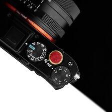 Gariz Soft Release Button Screw Type XA-SBLRS for Sony Camera Red