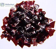 Dewaxed Garnet Shellac Flakes 1 lb, or 16 oz, Quality, Antique Restoration