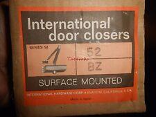 International Door Closer Surface Mounted Bronze Door Closer New in Box #52