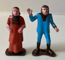 Vintage Planet of the Apes Multiple Toymakers Figures 1968 Cornelius and Zaius
