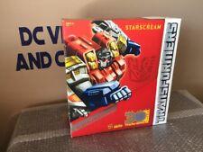 Transformers PLATINUM EDITION SUPREME STARSCREAM armada thrilling 30 horse year