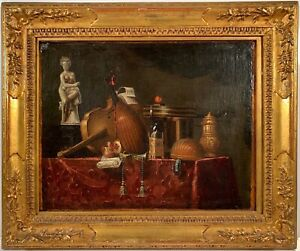 Listed Artist Bartolomeo Bettera (1639-1688) Oil Painting On Canvas w/Provenance