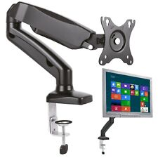 Gas TV PC Monitor Mount Vesa 100 Individual Swiveling Tiltable (Pivot)