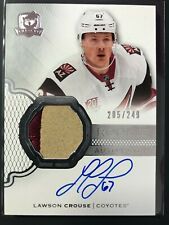 2016-17 The Cup Lawson Crouse Rookie Auto Patch Coyotes /249