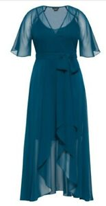 city chic maxi dress enthral me in  xl