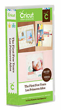 CRICUT *THE FIRST FEW YEARS* CARTRIDGE *NEW* CHILD MILESTONES 50 SCRAPBOOK PAGES