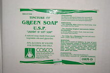 2x 8oz. BOTTLE COSCO GREEN SOAP 8 OUNCE TATTOO INK WASH STENCIL APPLICATION  KIT