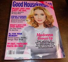 Good Housekeeping Magazine (Madonna) April 2000 Katie Couric's...