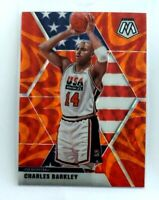 Charles Barkley Mosaic Orange Reactive Prizm #252 76ers USA 2019-20 Panini NBA