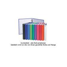 PAGNA Ringbuch Pappe DIN A5 weiß 4-Ring Ringordner Ringhefter Ordner Bürobedarf