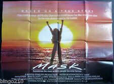 MASK 1985 ORIGINAL CINEMA QUAD POSTER CHER ERIC STOLTZ SAM ELLIOT 30X40