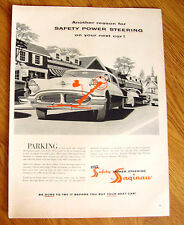 1956 Oldsmobile Ad Power Steering by Saginaw Parking