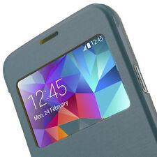 Funda FLIP COVER compatible Samsung Galaxy S5 i9500 carcasa de color AZUL OSCURO