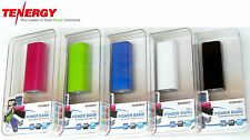 New Tenergy Smart 2600mAh EXTRA RUN TIME Power Bank For  IPHONE IPOD SMART PHONE