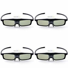 4PCS RF/Bluetooth Active Shutter 3D Glasses For Epson 2030 750HD Projecotor