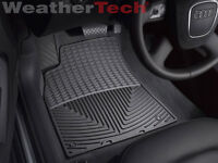 WeatherTech All-Weather Floor Mats - Audi A4/S4/RS4 - 2009-2016 - Black
