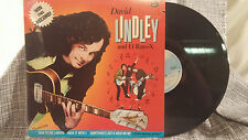David Lindley & El Rayo-X LP Win This Record Asylum Jackson Browne 1982 NM-