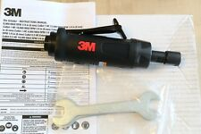 "3M Heavy Duty 1.0 HP Air Pneumatic Straight Die Grinder 1/4"" Collet 20,000 RPM"